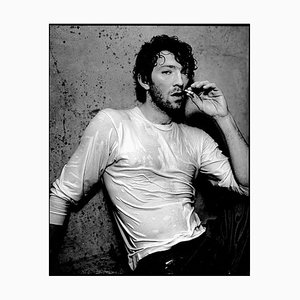 Vincent Cassel Framed in White by Kevin Westenberg