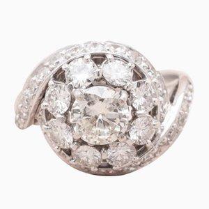 Bague Diamant en Or, 1970s