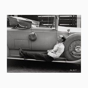 Buster Keaton Archivdruck in Schwarz