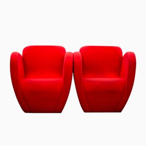 Size Ten Armchairs by Ron Arad for Moroso, Set of 2