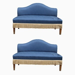 Sofas by Cesare Lacca, 1950s, Set of 2