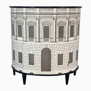 Mid-Century Chest of Drawers in the style of Fornasetti