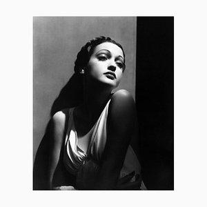Dorothy Lamour Archival Pigment Print Framed in White