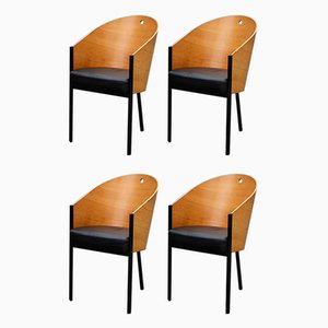 Vintage Dining Chairs by Philippe Starck for Driade, Set of 4