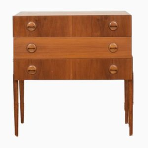 Mid-Century Teak Chest of Drawers from Hans Hawig Möbler, 1960s