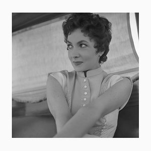 Gina Lollobrigida Archival Pigment Print Framed in White from Galerie Prints