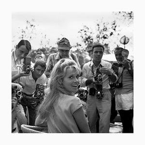 Jane Fonda Archival Pigment Print Framed in Black from Galerie Prints