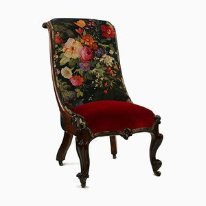 Victorian Rosewood Ladies Chair