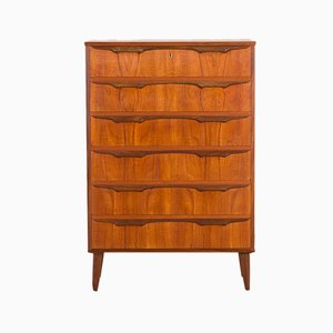 Danish Teak Chest of Drawers by Klaus Okholm for Trekanten, 1960s