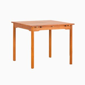 Mid-Century Danish Teak Dining Table with Drop Leaf Extension from Winge Mobler, 1960s