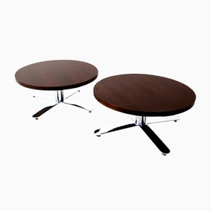 Modern Rosewood Coffee Tables, 1960s, Set of 2
