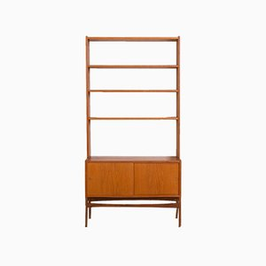 Mid-Century Norwegian Teak Wall Unit, 1960s