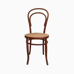 No. 14 Dining Chairs by Michael Thonet for Fischel, 1920s, Set of 3