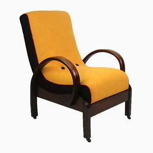 Bentwood Oak Armchair by Heals, 1930s