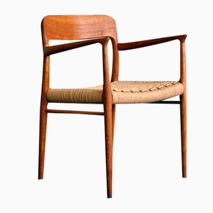 Mid-Century Danish Oak Model 56 Chair by Niels Otto Møller for JL Moller, 1960s