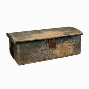 Antique Trunk with Dome Top
