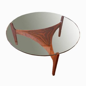 Rosewood Coffee Table by Sven Ellekaer for Hohnert, 1960s