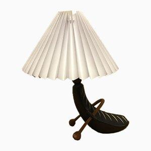 Lampada da tavolo in ceramica di Loholt, anni '60