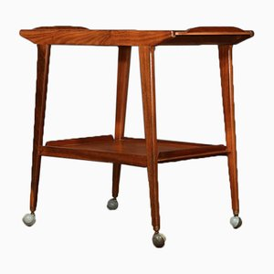Danish Teak Trolley, 1960s