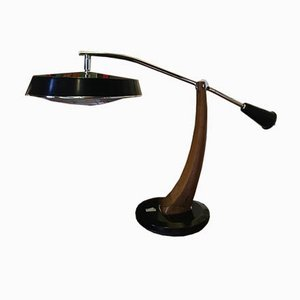 Lupela Tischlampe von Fase, 1960er