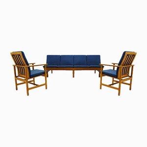 4-Sitzer Sofa & 2 Sessel von Børge Mogensen für Fredericia, 1960er, 3er Set