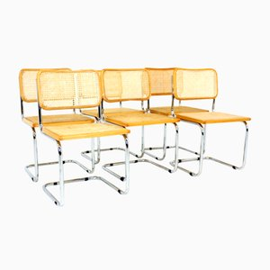 Model S32 Dining Chairs by Marcel Breuer, 1970s, Set of 6