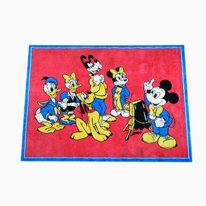 Alfombra de Mickey Mouse, años 60