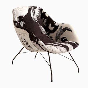 Modern Concha Armchair by Martin Eisler & Carlo Hauner, 1950s