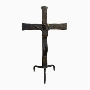 Antique Cast Iron Cross, 1890s