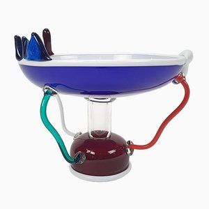 Memphis Milano Sol Fruit Bowl by Ettore Sottsass, 1982