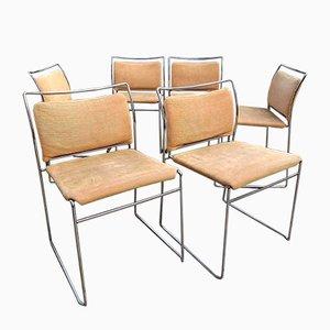 Tulu Esszimmerstühle von Kazuhide Takahama für Gavina, 1968, 6er Set