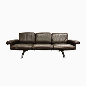 Brown Leather DS31 Sofa from de Sede, 1970s