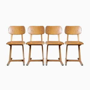 Dining Chairs by Karl Nothhelfer for Casala, 1960s, Set of 4