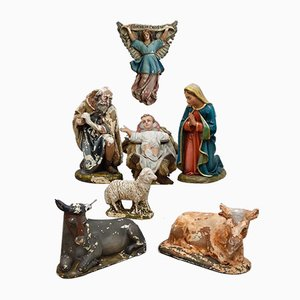 Complete Nativity Scene, Set of 13