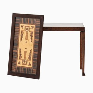 Schwedischer Tablett Tisch von Eric Chambert für AB Chamberts Möbelfabrik, 1931