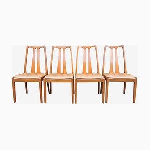 Vintage Teak Esszimmerstühle von Nathan für G-Plan, 1960er, 4er Set