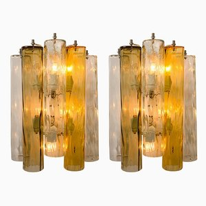 Murano Glass Sconces from Barovier & Toso, 1960s, Set of 2