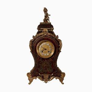 Orologio da tavolo barocco in bronzo, Francia, XIX secolo