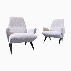 Italian Armchairs by Nino Zoncada for Frimar, 1950s, Set of 2