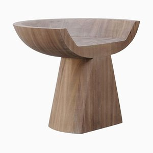 Throne in African Walnut by Arno Declercq