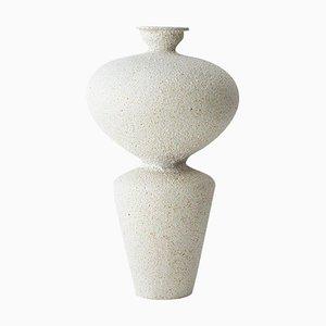 Lebes Hueso Steingut Vase von Raquel Vidal und Pedro Paz