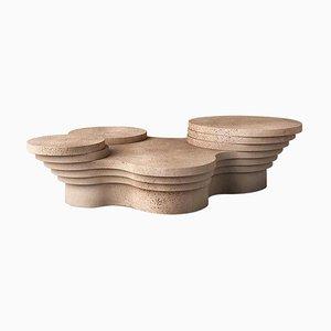 Slice Me Up Skulpturaler Couchtisch von Pietro Franceschini