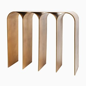 Gold Arch Console by Pietro Franceschini