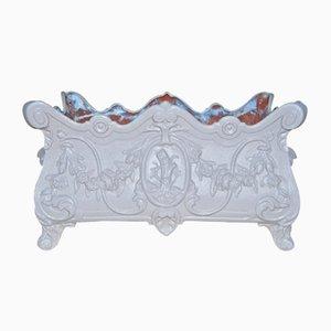 Maceta de jardín modelo nº 10 de hierro fundido de Alfred Corneau
