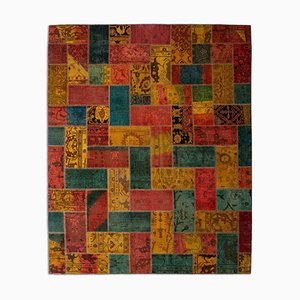 Vintage Geometric Patchwork Rug