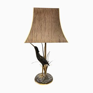Mid-Century Modern Italian Brass Table Lamp by Lanciotto Galeotti for L'Originale, 1950s