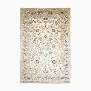 Geblümter orientalischer Orient Teppich mit Border, 1970er