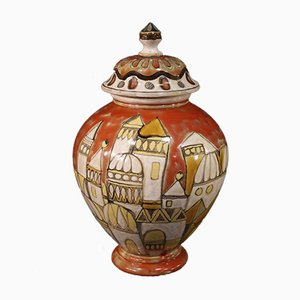 Italienische Keramikvase, 1976