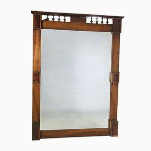 Large Vintage Art Deco Mirror