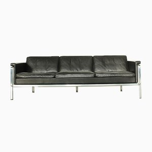 Leather Model 6913 Sofa by Horst Brüning for Kill International, 1960s